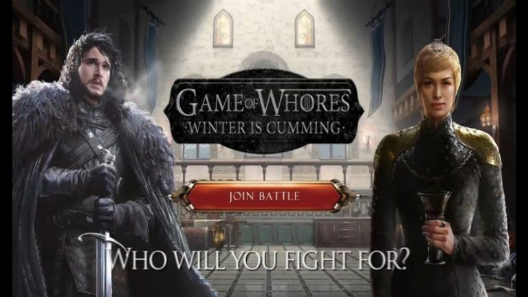 Game of Whores – Winter is Cumming