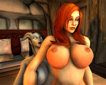 World of Whorecraft – Parody Sex Game