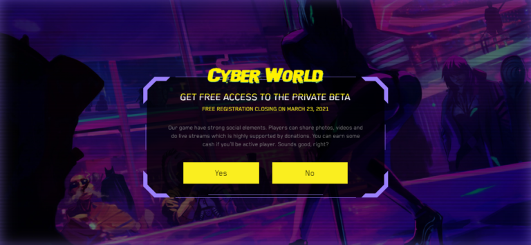 Cyber World – Porn Game