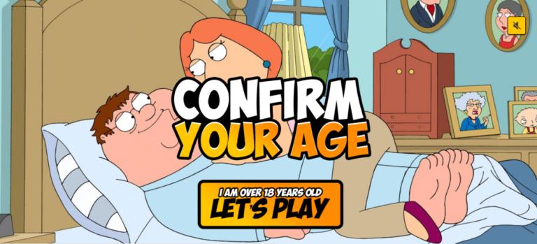 Extreme Cartoon Games – XXX Game