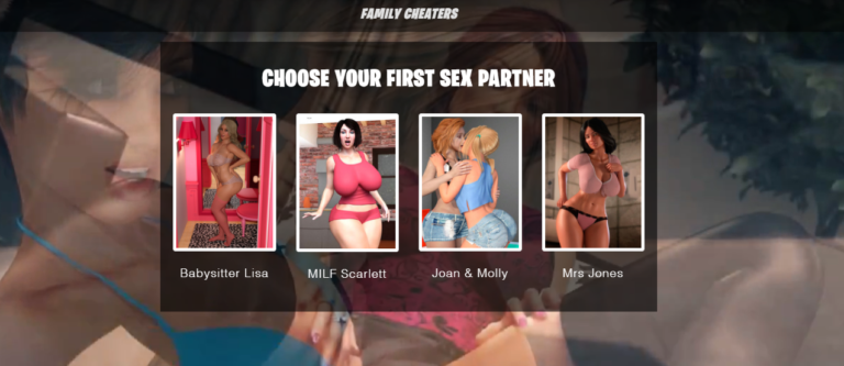 Family Cheaters – Porn Game
